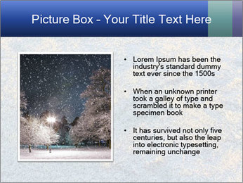 Winter Frosty Morning PowerPoint Template - Slide 13