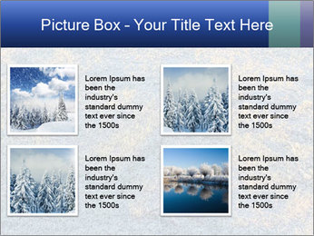 Winter Frosty Morning PowerPoint Template - Slide 14