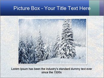 Winter Frosty Morning PowerPoint Template - Slide 15