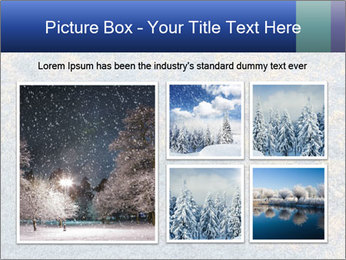Winter Frosty Morning PowerPoint Template - Slide 19