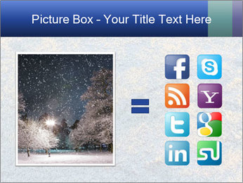 Winter Frosty Morning PowerPoint Template - Slide 21