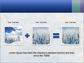 Winter Frosty Morning PowerPoint Template - Slide 22