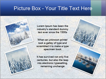 Winter Frosty Morning PowerPoint Template - Slide 24