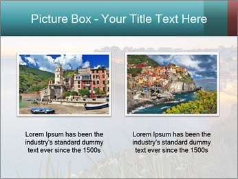 Mediterranean Coast During Sunset PowerPoint Template - Slide 18