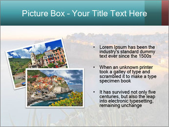 Mediterranean Coast During Sunset PowerPoint Template - Slide 20
