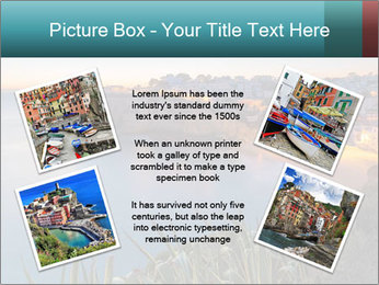 Mediterranean Coast During Sunset PowerPoint Template - Slide 24