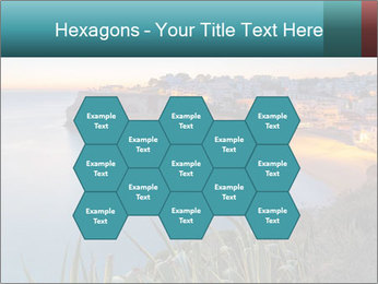 Mediterranean Coast During Sunset PowerPoint Template - Slide 44