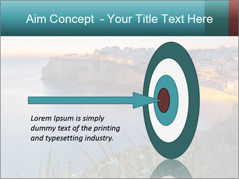 Mediterranean Coast During Sunset PowerPoint Template - Slide 83