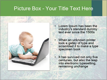 Small Girl In Forest PowerPoint Template - Slide 13