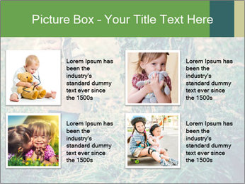 Small Girl In Forest PowerPoint Template - Slide 14