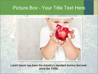 Small Girl In Forest PowerPoint Template - Slide 15