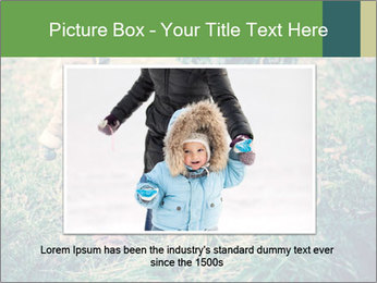 Small Girl In Forest PowerPoint Template - Slide 16