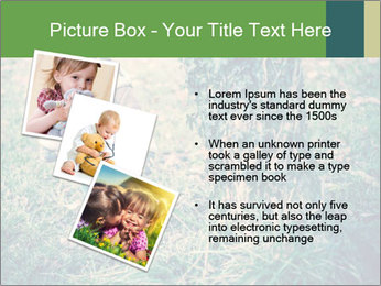 Small Girl In Forest PowerPoint Template - Slide 17