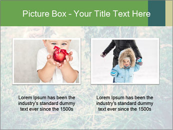 Small Girl In Forest PowerPoint Template - Slide 18