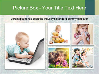 Small Girl In Forest PowerPoint Template - Slide 19