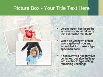 Small Girl In Forest PowerPoint Template - Slide 20