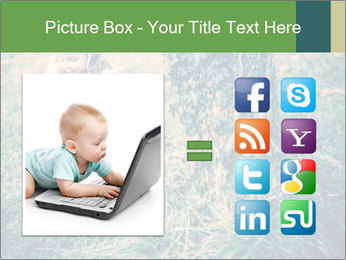 Small Girl In Forest PowerPoint Template - Slide 21