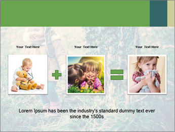 Small Girl In Forest PowerPoint Template - Slide 22