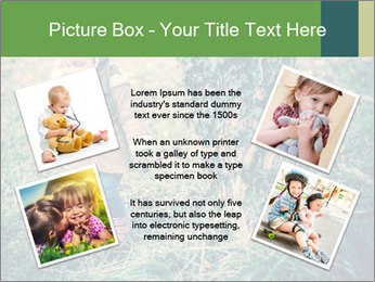 Small Girl In Forest PowerPoint Template - Slide 24