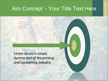 Small Girl In Forest PowerPoint Template - Slide 83
