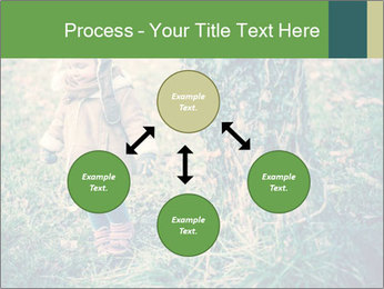 Small Girl In Forest PowerPoint Template - Slide 91