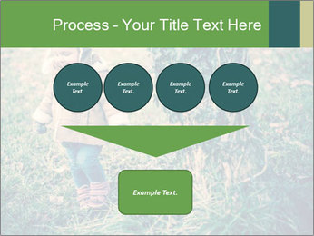 Small Girl In Forest PowerPoint Template - Slide 93