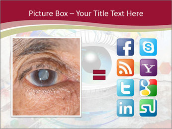 Abstract Eye PowerPoint Template - Slide 21
