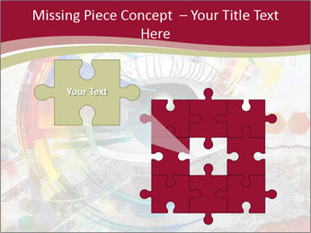 Abstract Eye PowerPoint Template - Slide 45