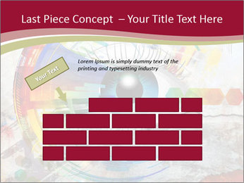 Abstract Eye PowerPoint Template - Slide 46