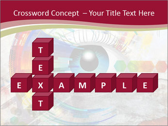 Abstract Eye PowerPoint Template - Slide 82
