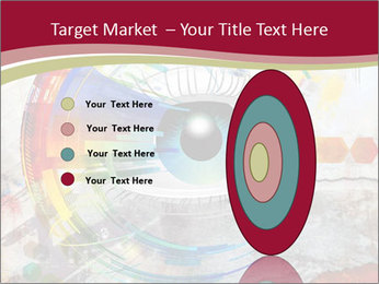 Abstract Eye PowerPoint Template - Slide 84