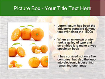 Slices of tangerine in the shape of hearts PowerPoint Template - Slide 13