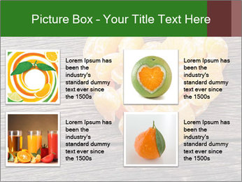 Slices of tangerine in the shape of hearts PowerPoint Templates - Slide 14