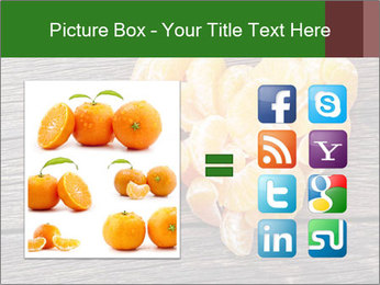 Slices of tangerine in the shape of hearts PowerPoint Template - Slide 21