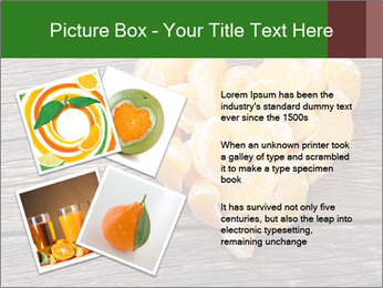 Slices of tangerine in the shape of hearts PowerPoint Template - Slide 23