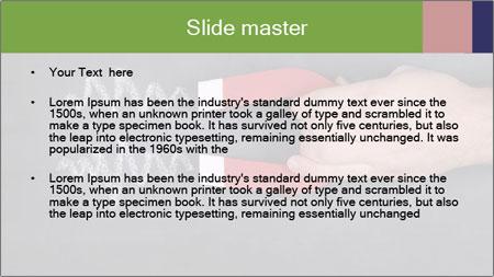 A magnet PowerPoint Template - Slide 2