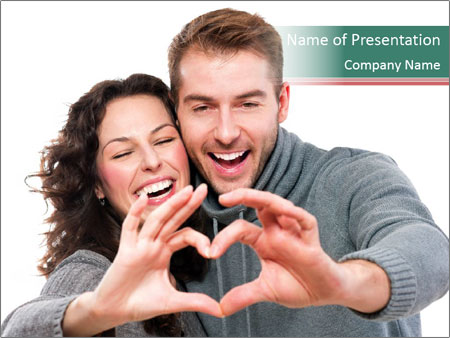 Happy Valentines Day PowerPoint Template
