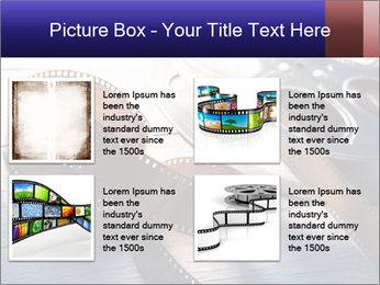 Movie reel PowerPoint Template - Slide 14