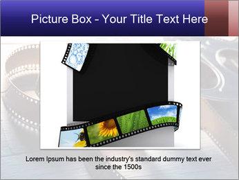 Movie reel PowerPoint Template - Slide 15