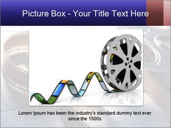 Movie reel PowerPoint Template - Slide 16