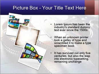 Movie reel PowerPoint Template - Slide 17