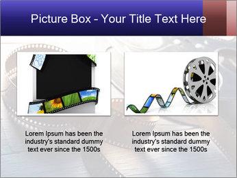 Movie reel PowerPoint Template - Slide 18