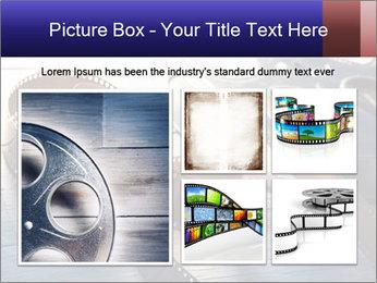 Movie reel PowerPoint Template - Slide 19