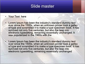Movie reel PowerPoint Template - Slide 2
