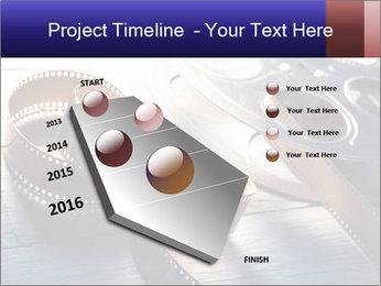 Movie reel PowerPoint Template - Slide 26