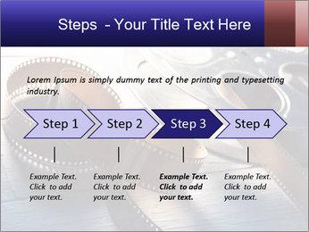 Movie reel PowerPoint Template - Slide 4