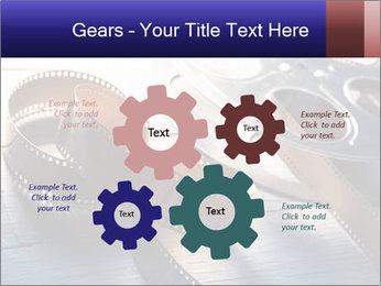 Movie reel PowerPoint Template - Slide 47