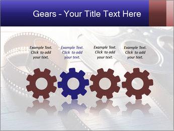 Movie reel PowerPoint Template - Slide 48