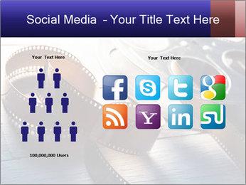Movie reel PowerPoint Template - Slide 5