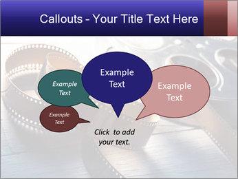 Movie reel PowerPoint Template - Slide 73